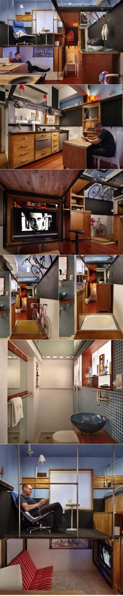 design small studio apartment