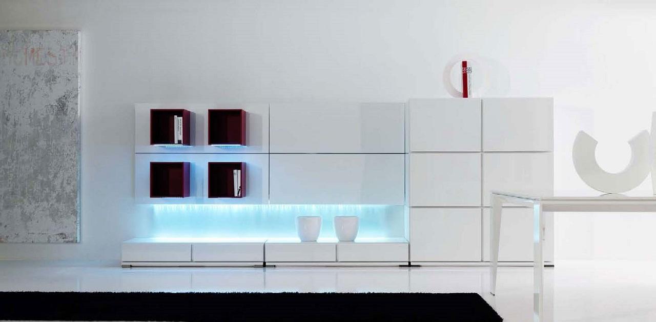 modern minimalist room