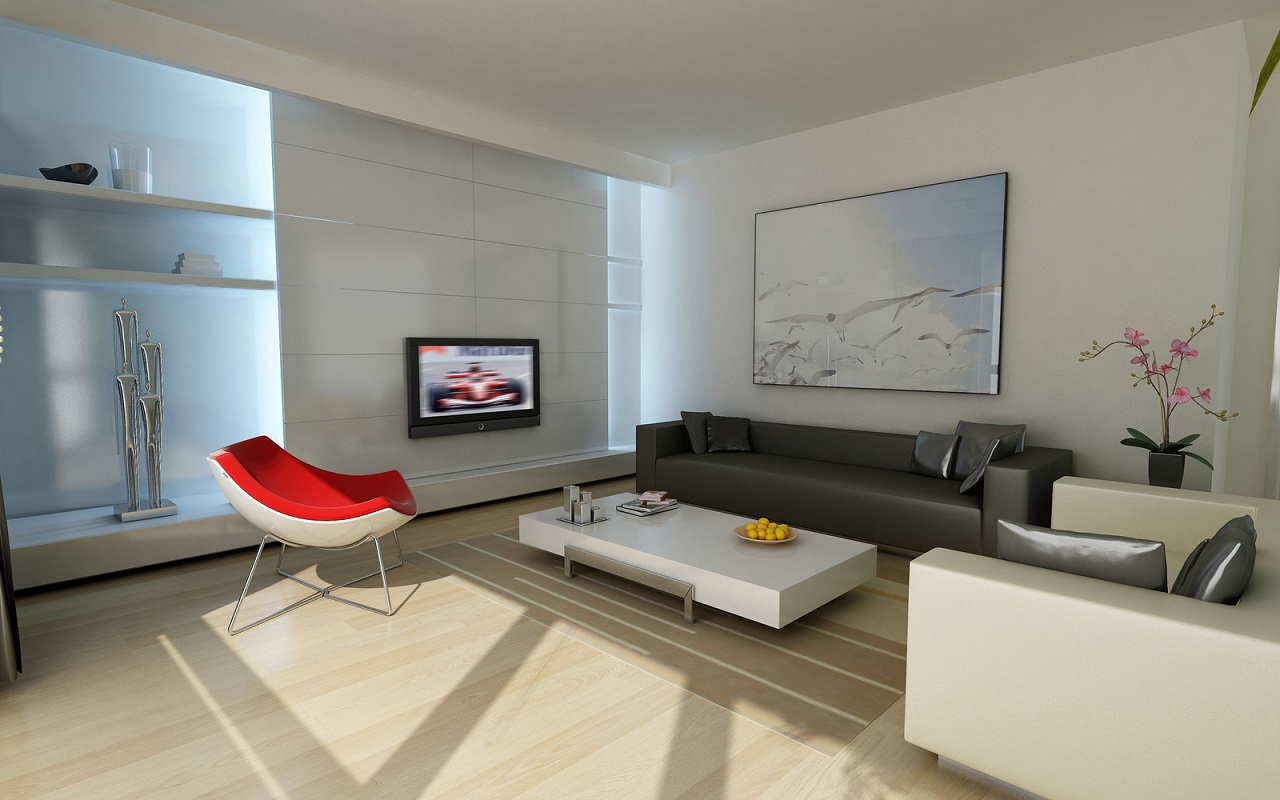 60 top modern and minimalist living rooms for your for Minimalist design ideas