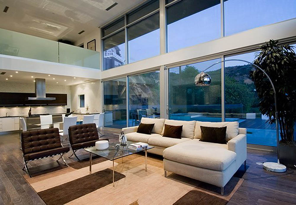 Modern Minimalist Living Room Home Design
