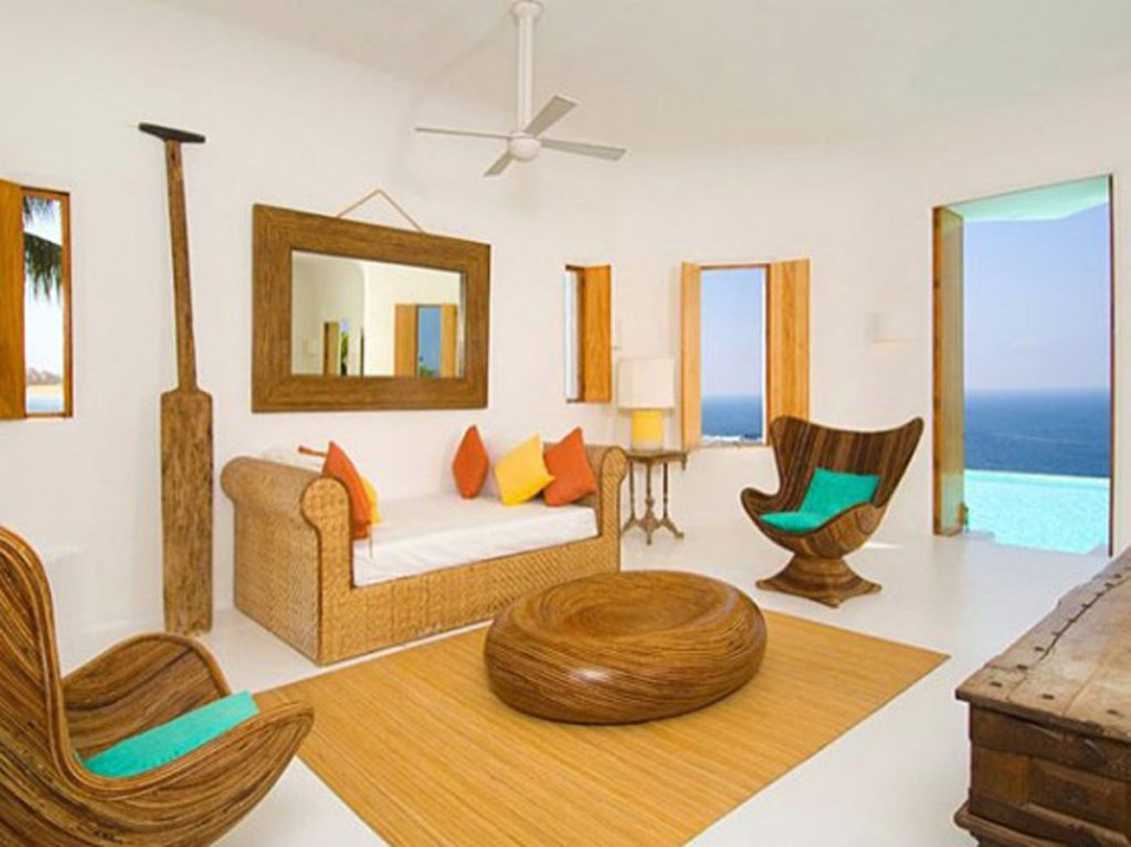 designing a minimalist living room