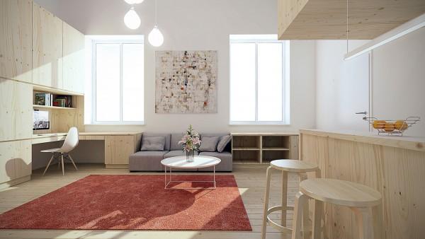 small apartments design ideas