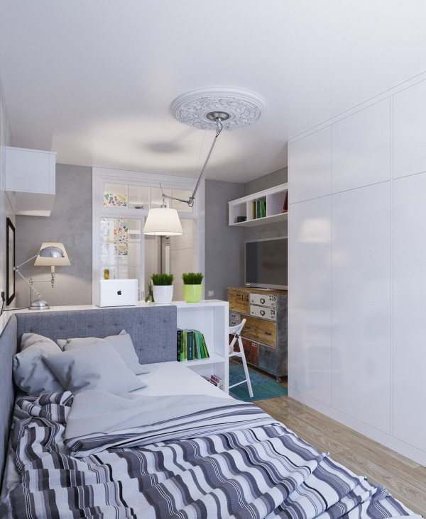 small modern apartment design ideas