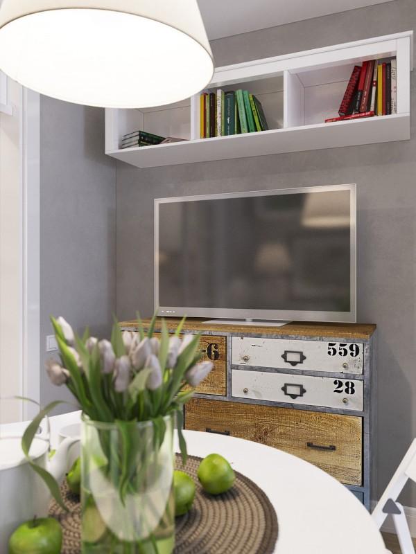 interior design for studio apartment