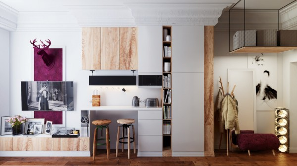design ideas for small apartment