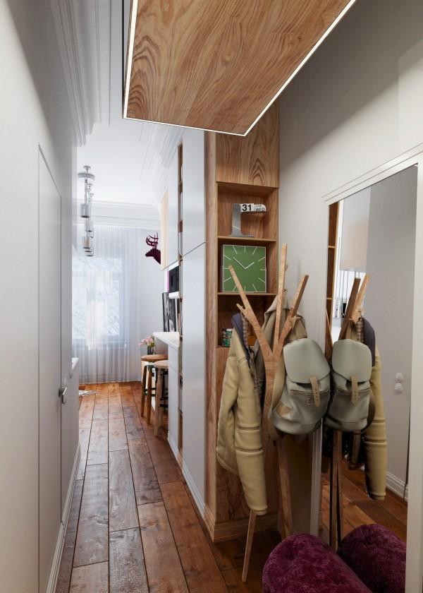 design small apartment living room