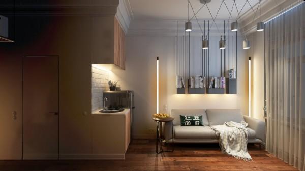 living room design small apartment