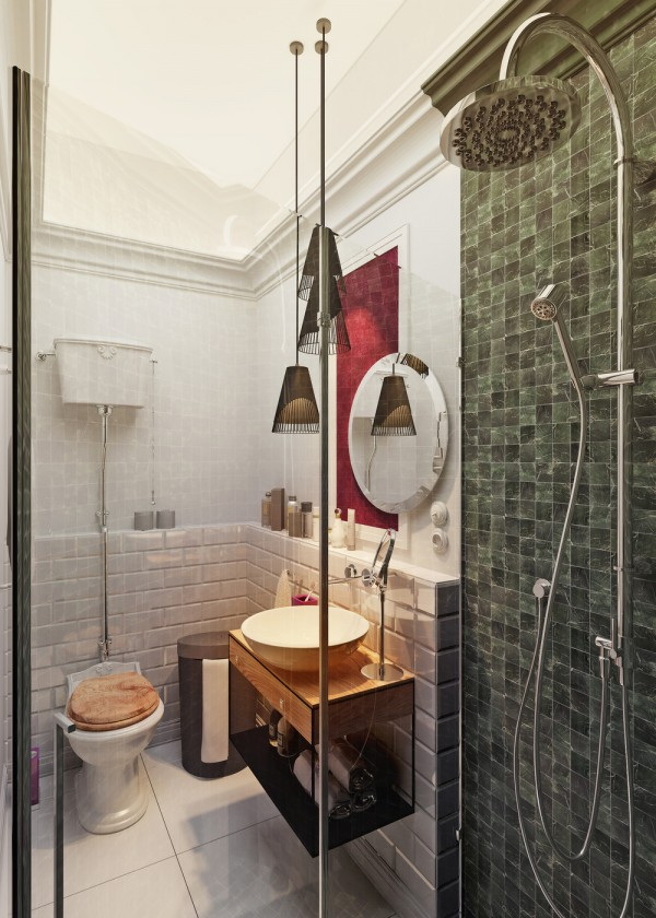 bathroom design for small studio apartment