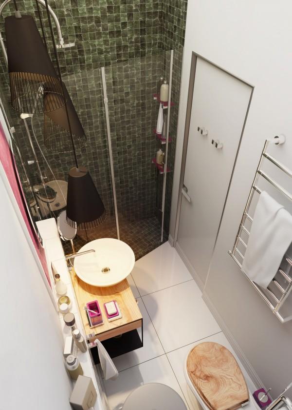 bathroom design interior small apartment