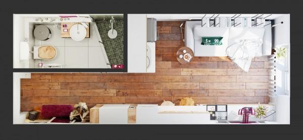 small apartment design tips