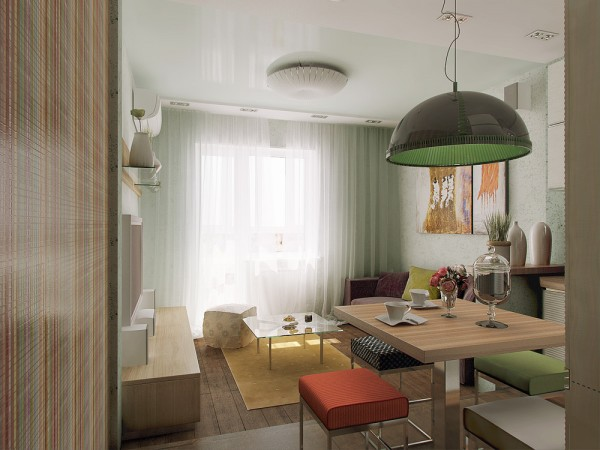 small space apartment design