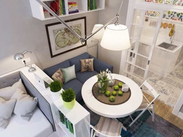 simple design ideas for small apartment