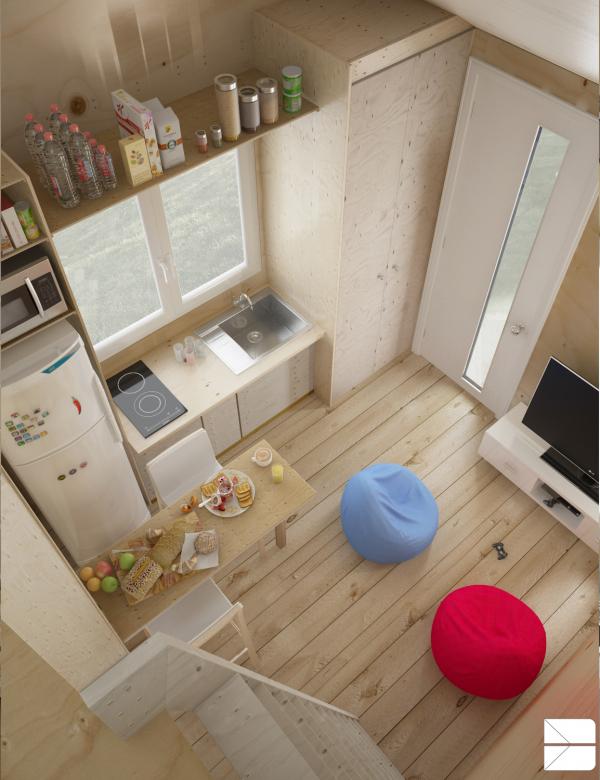amazing small apartment design