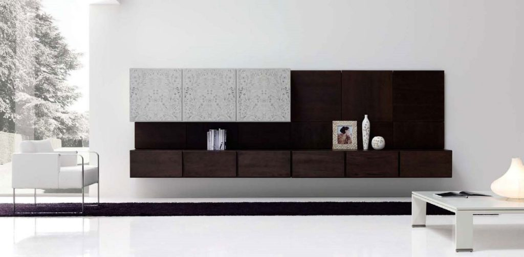 minimalist living room concept