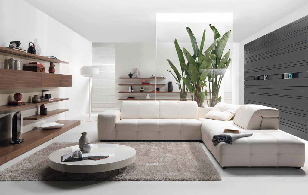 60 top modern and minimalist living rooms for your for Minimalist living ideas