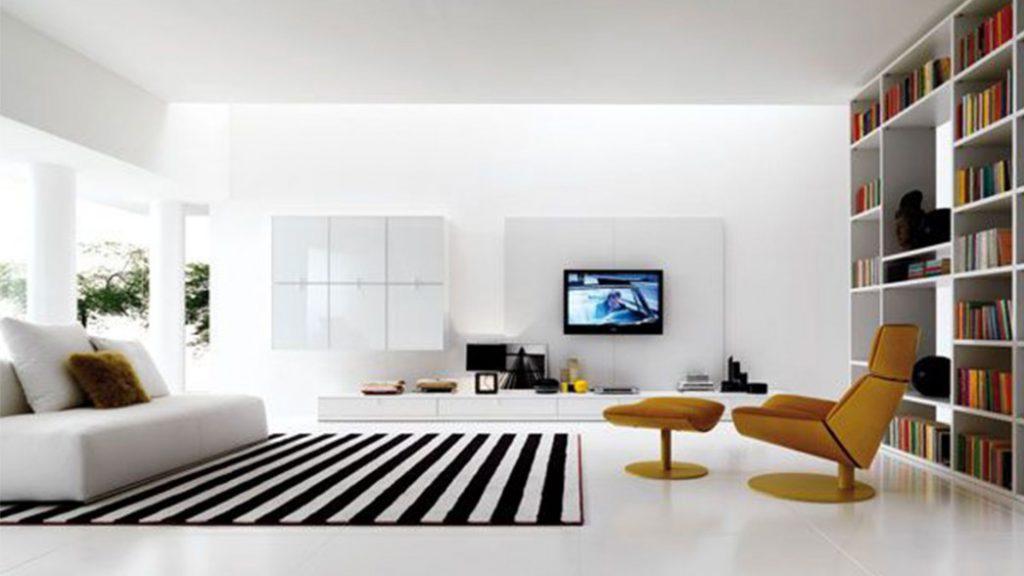 minimalist living room essentials