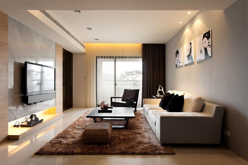 modern minimalist decor - Minimalist Interior Design Living Room