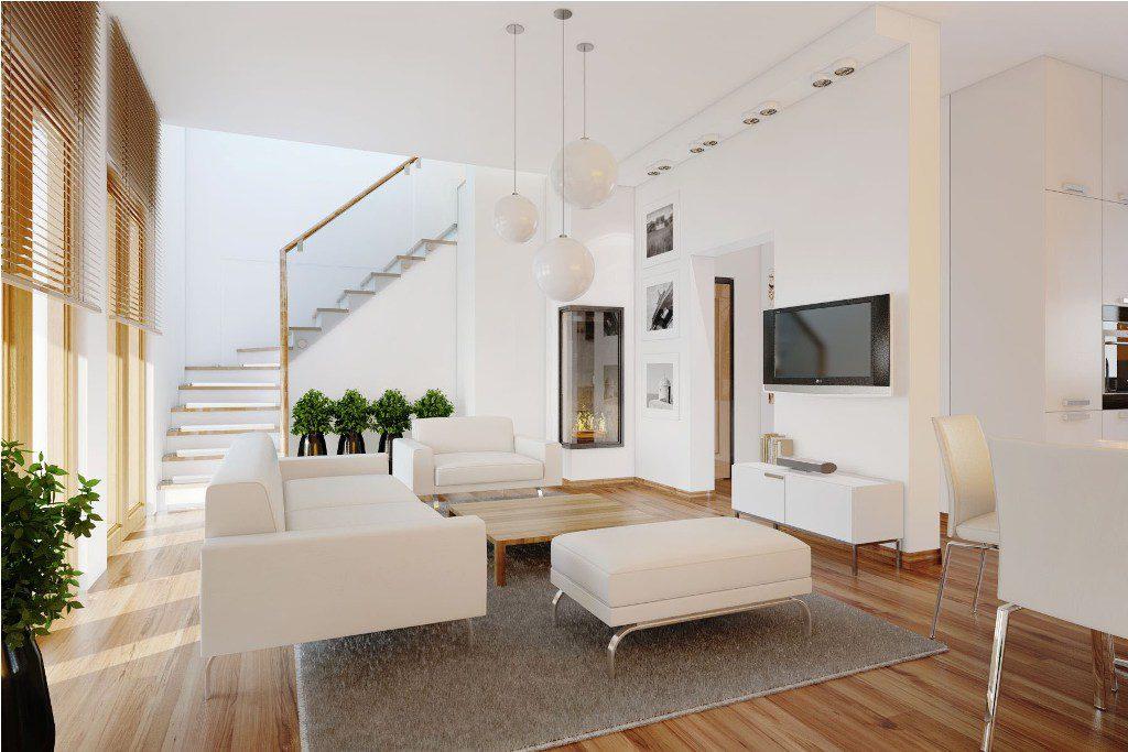 modern minimalist living room interior design