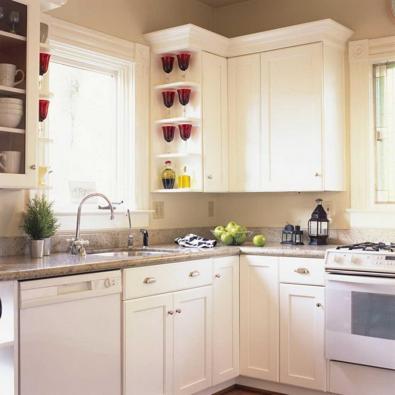 simple white kitchen design ideas