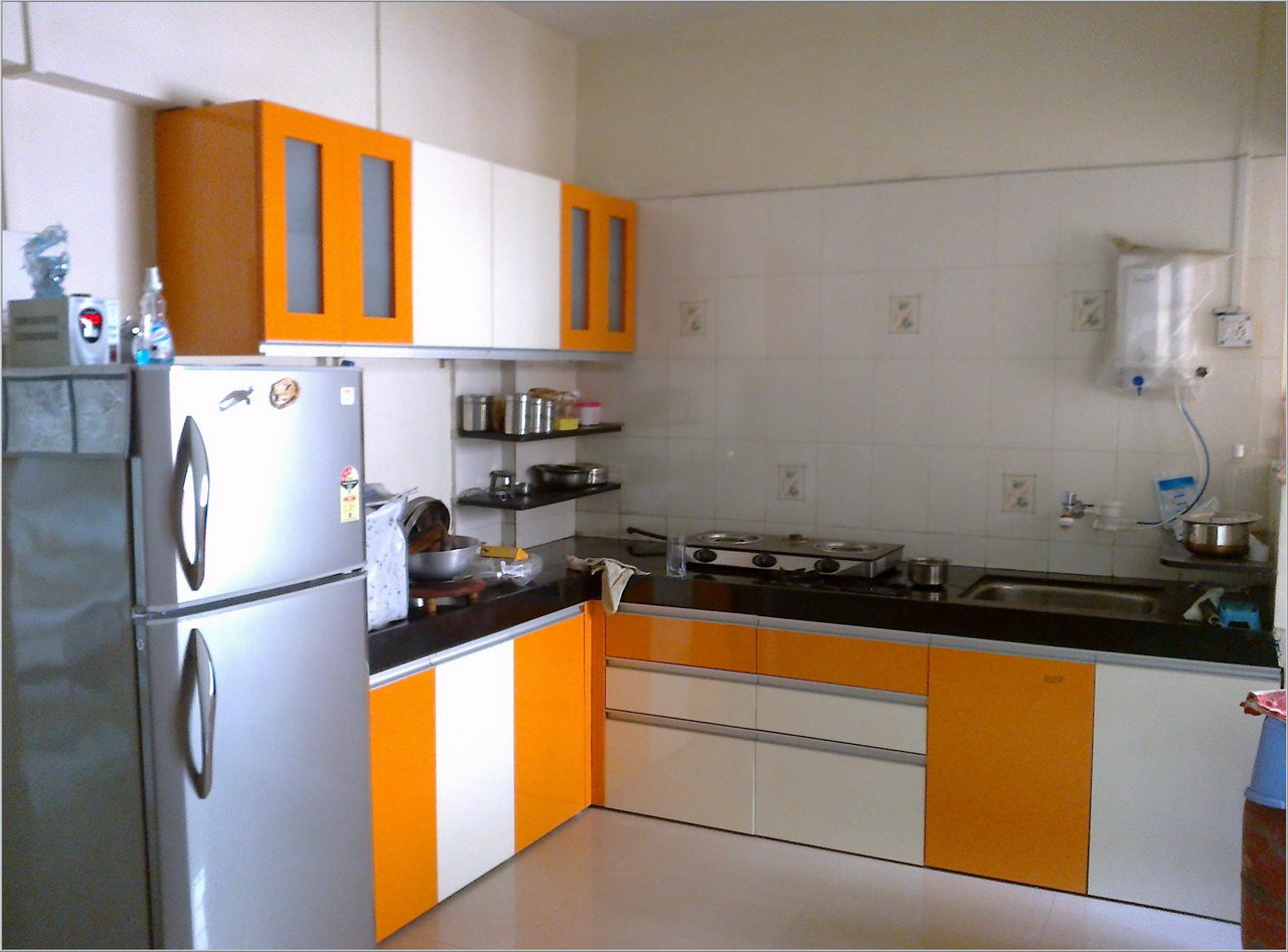 42 best kitchen design ideas with different styles and for Interior design of kitchen room in india