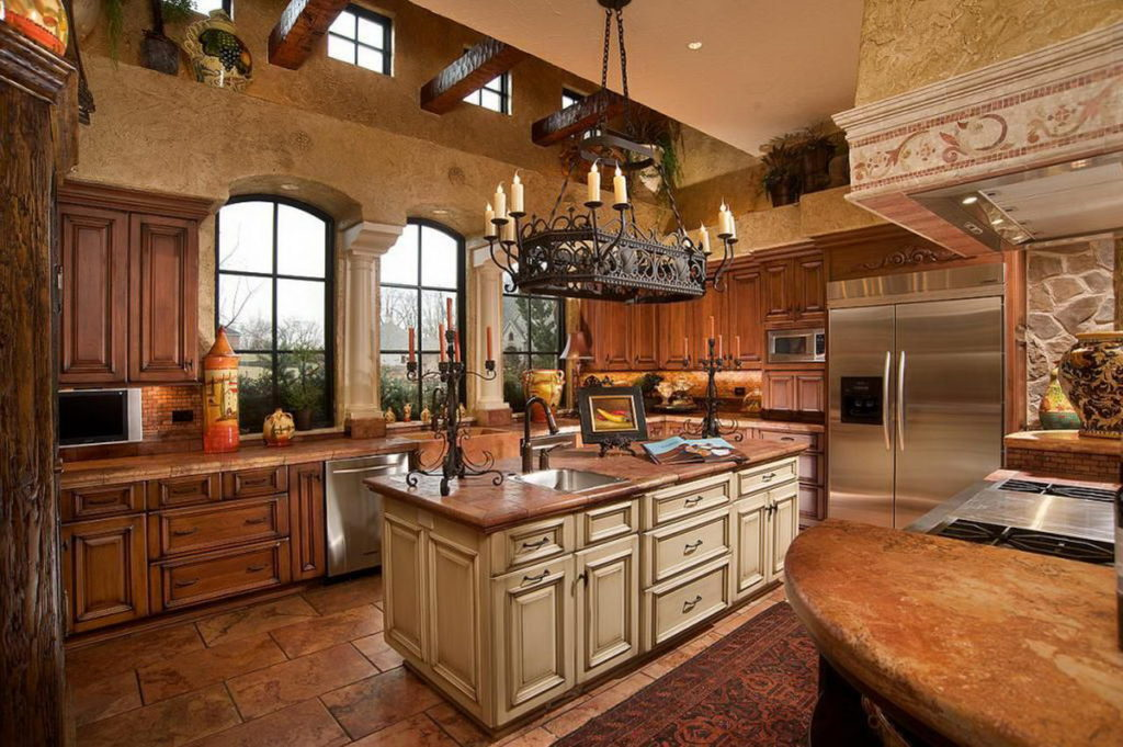 traditional design idea for kitchen