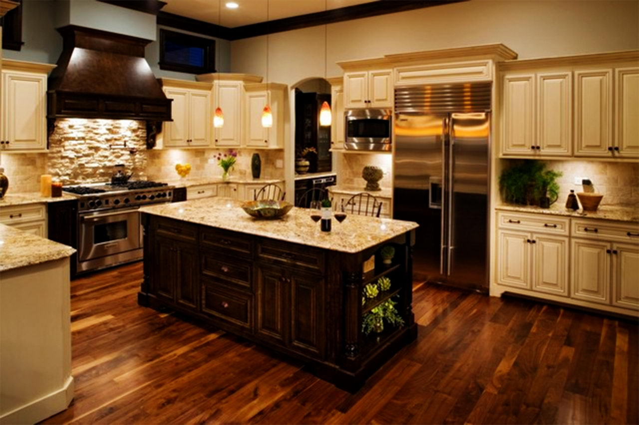 42 best kitchen design ideas with different styles and layouts homedizz - Pics of kitchen designs ...