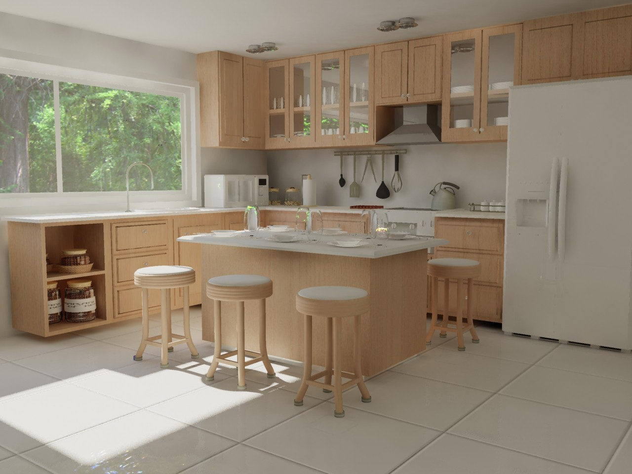 Kitchen Design Pictures Simple