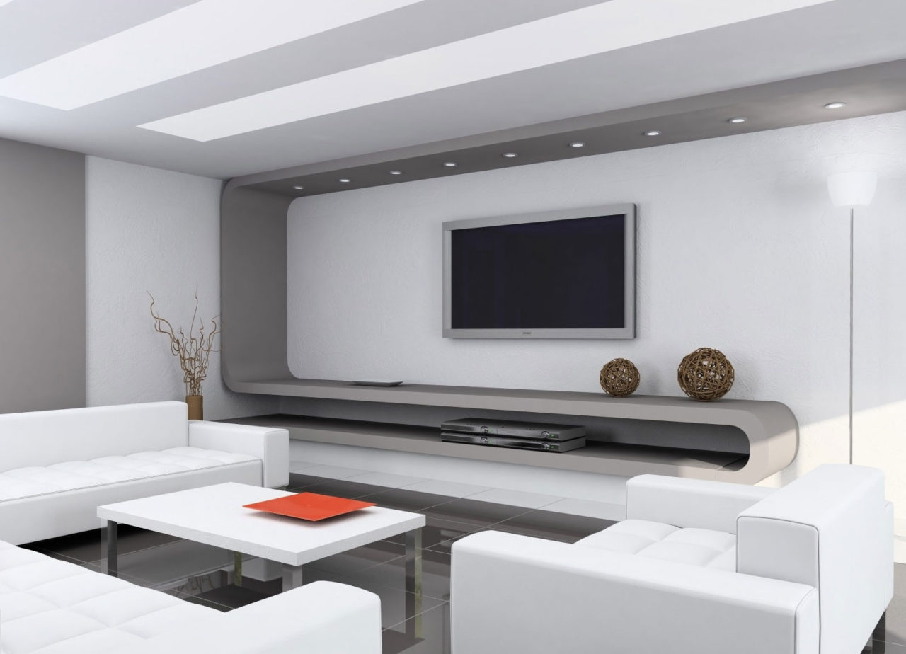 Minimalist living room set homedizz for Best modern living room