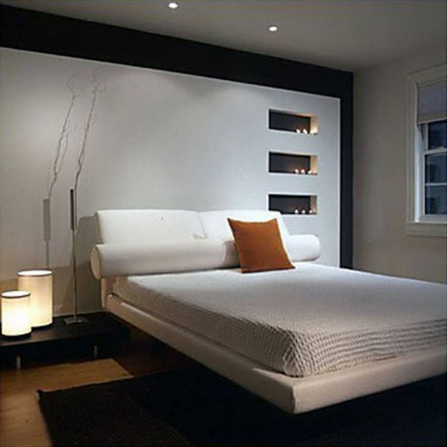amazing modern small master bedroom designs idea with minimalist queen sized bed