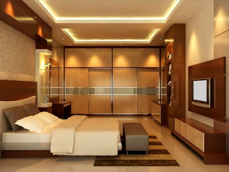 25 tips for designing small sized bedrooms got bigger with for Minimalist master bedroom ideas