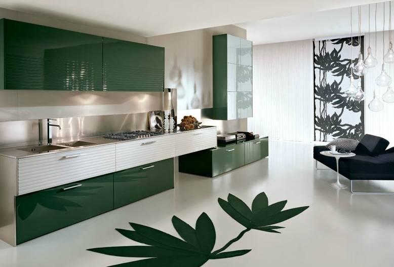 Contemporary kitchen design idea