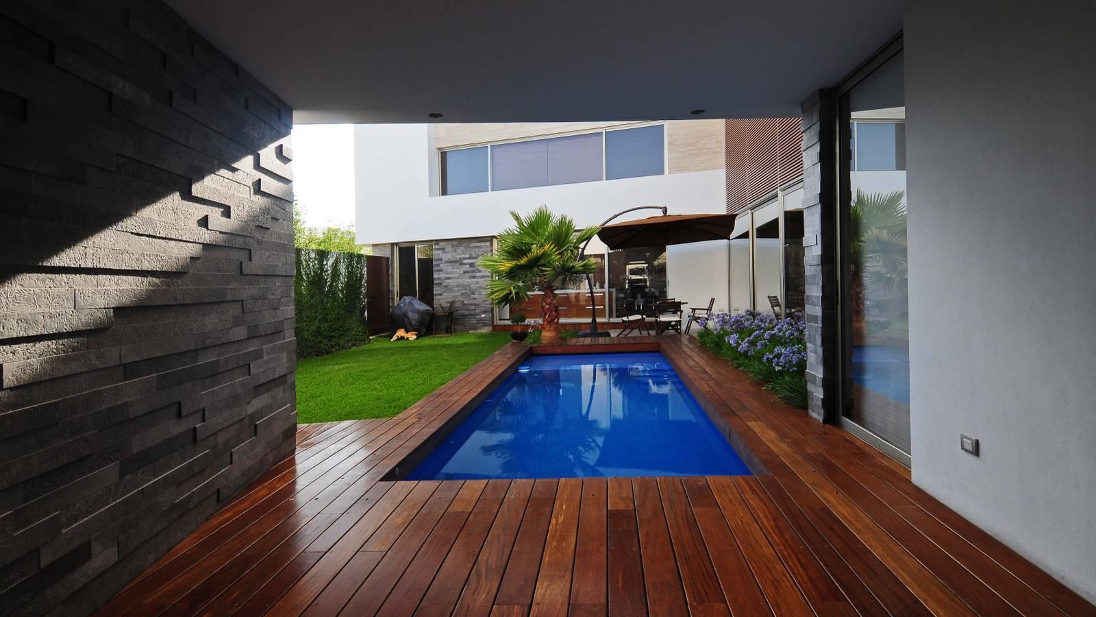 Luxurious interior EV House of Ze Arquitectura studio