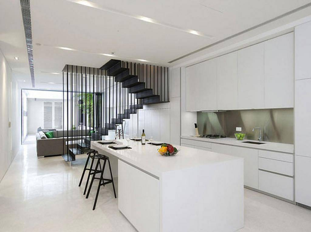 24 ideas of modern kitchen design in minimalist style for Deco minimaliste design