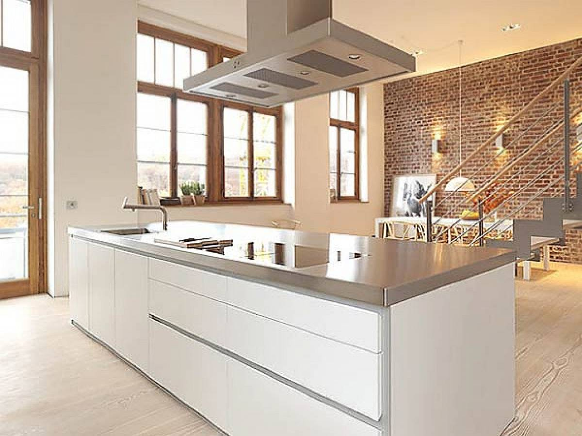 24 ideas of modern kitchen design in minimalist style for Interior decoration of kitchen pictures