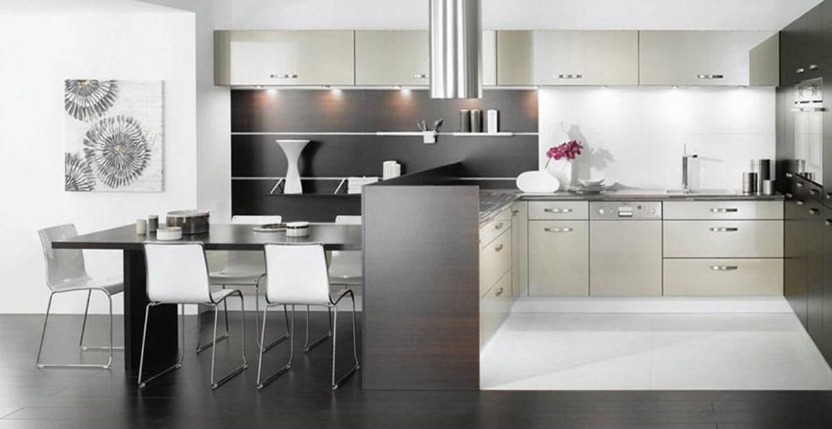 24 ideas of modern kitchen design in minimalist style homedizz - Living in small spaces home minimalist ...
