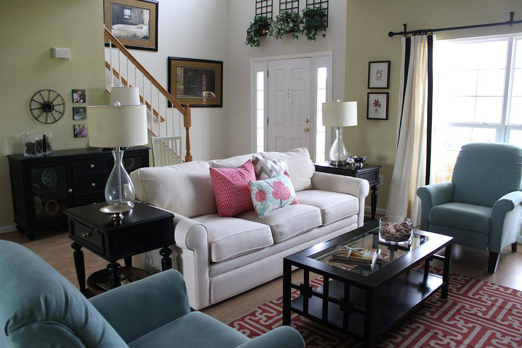 Furnish a Living Room on a Budget 4