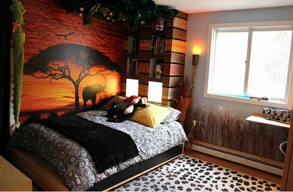 bedrooms inspired by africa