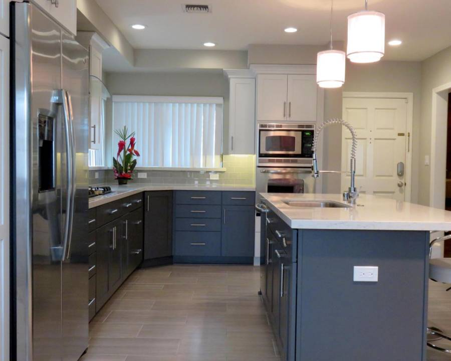 dark kitchen cabinets with light floors 97 wood flooring with light cabinets kitchen 14472
