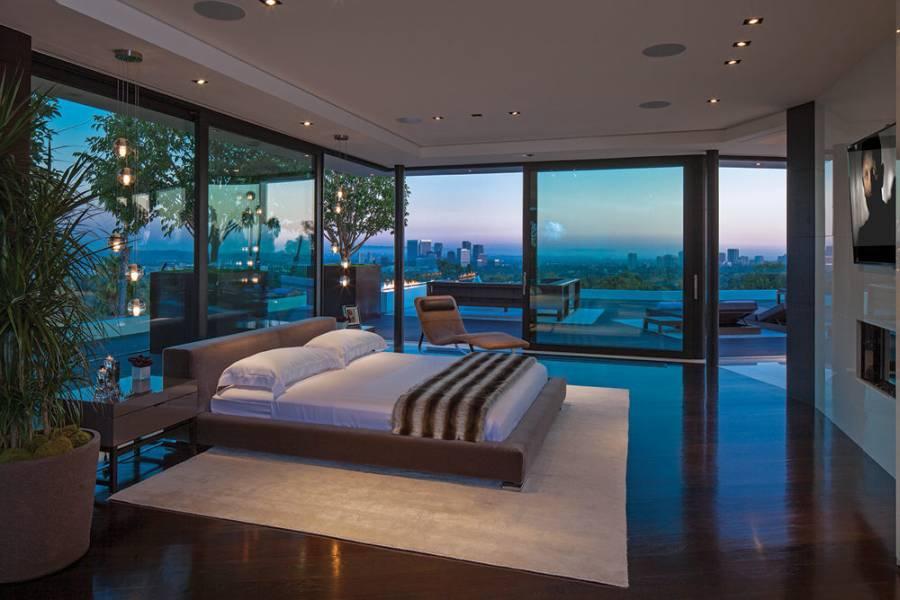 Modern beach house design with natural light