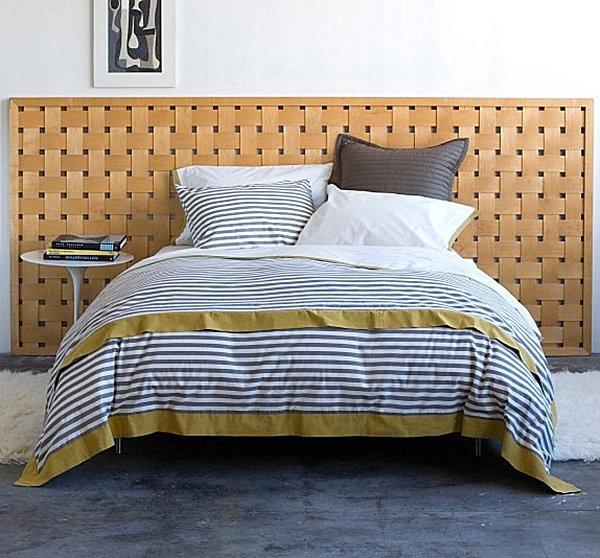autumnal stripe bed linen designs white black