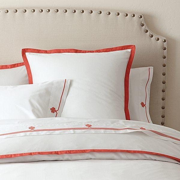 autumnal bed linen designs ideas white orange