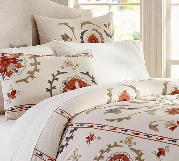 autumnal bed linen designs pillow soft textures