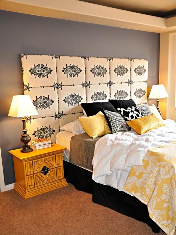 bed headboard with original design ideas prima