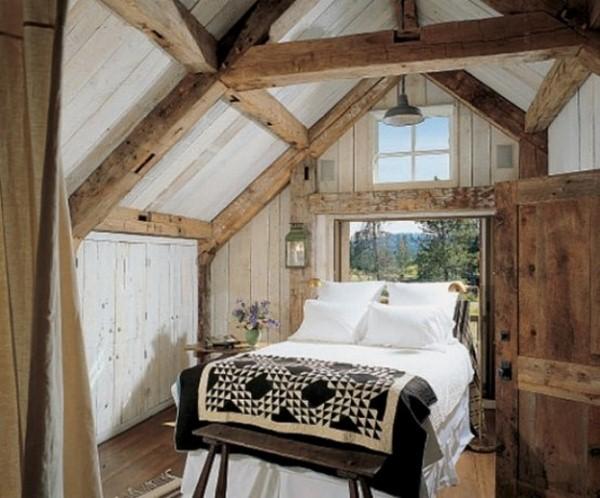 open sleeping loft bedroom feeding