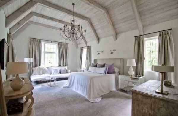 rustic comfortable bed room