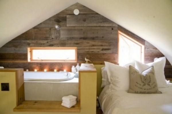 view original room bed white bathtub