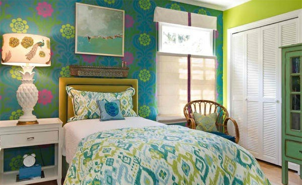 bedroom colors ideas blue green color design ideas