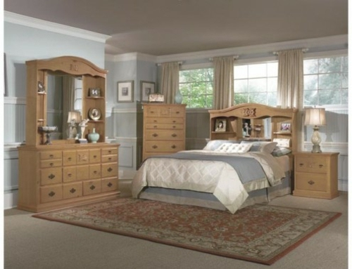 Country style decorating ideas bedroom