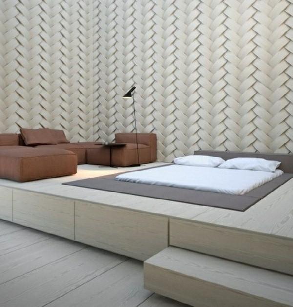 bedroom ideas arte bed bedroom floor pedestal mounted wooden platform