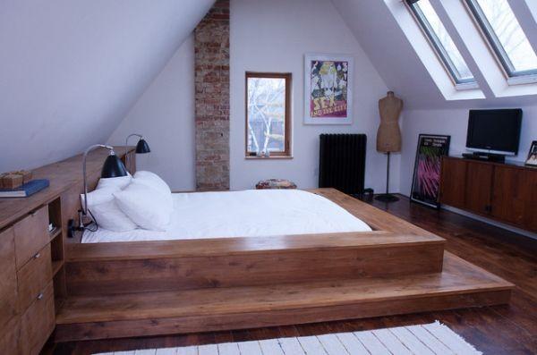 floor fitted bedroom bed bedroom ideas arte wood pedestal